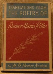 Translations from The Poetry of Rilke